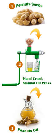 easy steps for how to make peanut oil at home