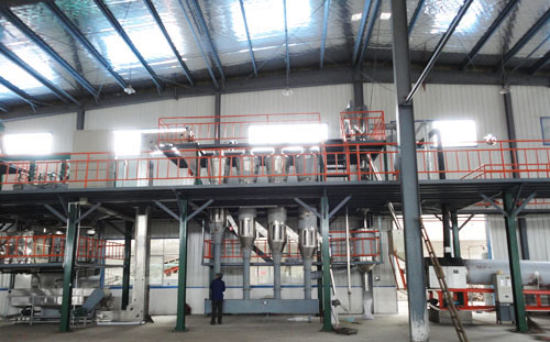 complete sesame oil plant