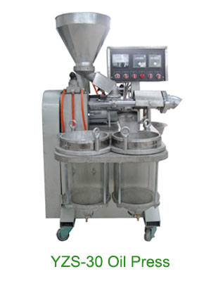 yzs-30 sesame oil press machine