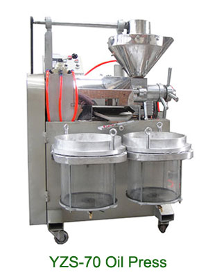 yzs-70 automatic sesame oil press machine